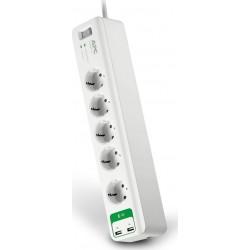 APC Essential SurgeArrest PM5U-GR 5Οutlet with USB Charger