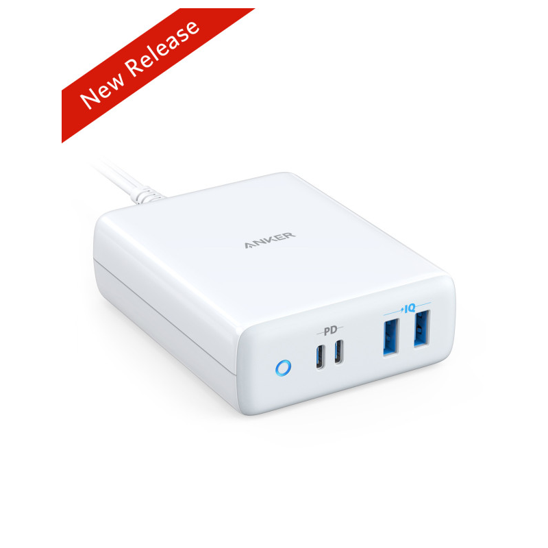ANKER POWERPORT ATOM PD 4. CHARGER 100W WHITE