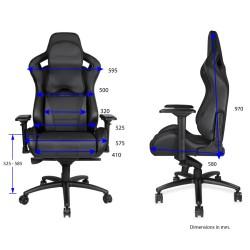 ANDA SEAT Gaming Chair DARK KNIGHT Premium Carbon Black