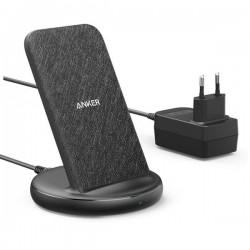 ANKER POWERWAVE II STAND WIRELESS CHARGER BLACK