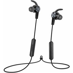 Bluetooth Hands Free Huawei AM61 Sport Lite Magnetic Μαύρο με Noise Cancellation Half-in-ear