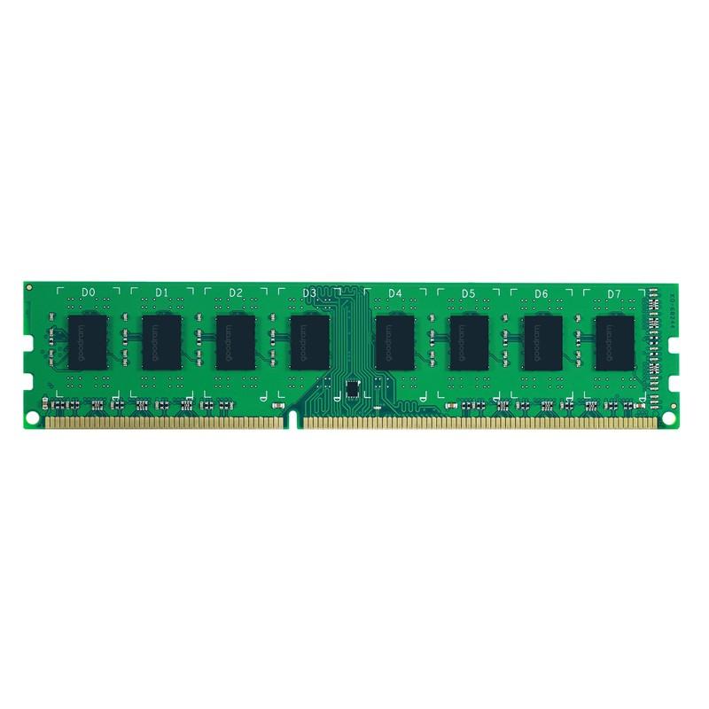 GOODRAM Μνήμη DDR3 UDIMM GR1600D3V64L11, 8GB, 1600MHz PC3-12800, CL11