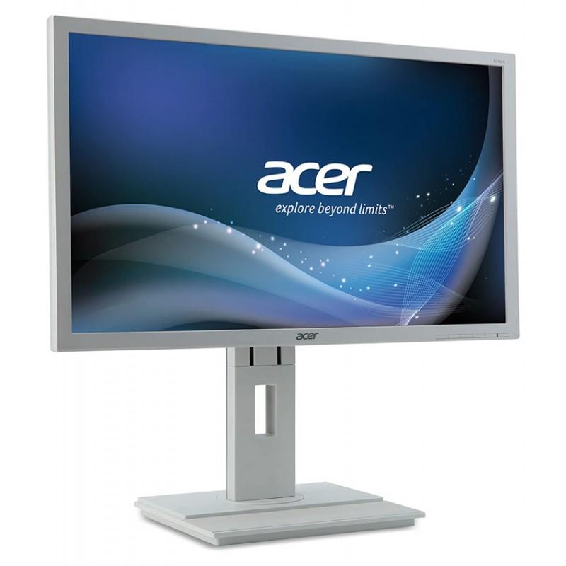 "ACER used οθόνη B246HL LED, 24"" Full HD, VGA/DVI-D/DP, με ηχεία, FQ"