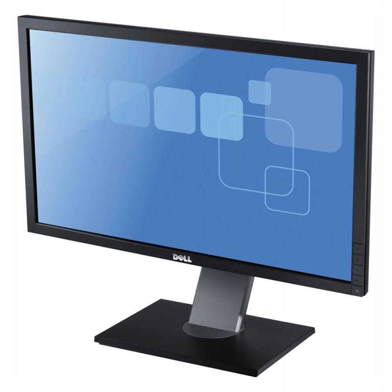 """DELL used οθόνη P2411HD LED, 24"""" Full HD, VGA/DVI-D, SQ"""