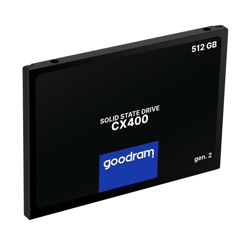 """GOODRAM SSD CX400 Gen.2 512GB, 2.5"""", SATA III, 550-500MB/s, 3D TLC NAND"""