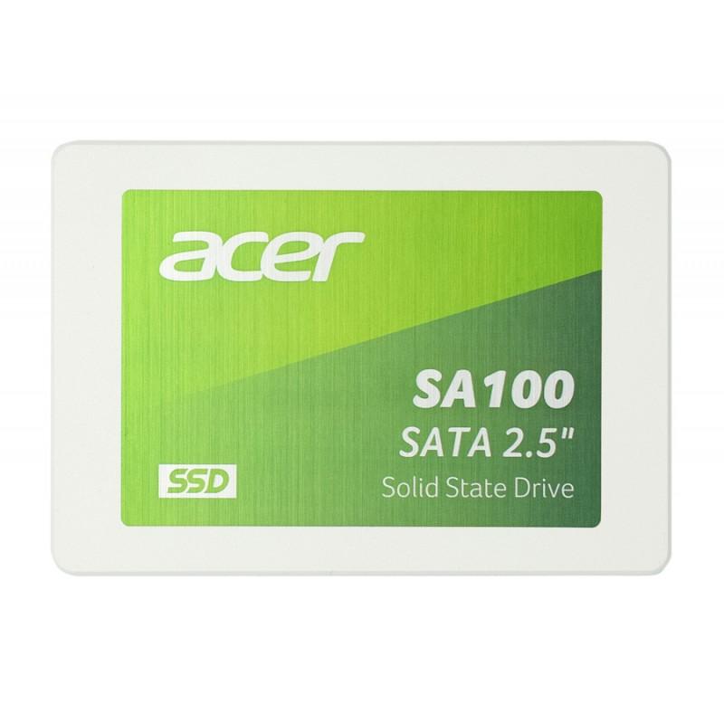 "ACER SSD SA100 120GB, 2.5"", SATA III, 561-474MB/s, 3D TLC NAND"