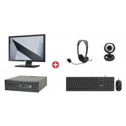 Bundle HP PC 600 G1 SFF με...