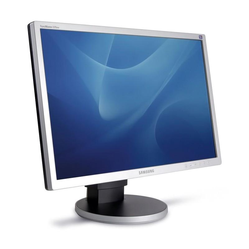 """SAMSUNG used οθόνη 225BW LCD, 22"""" 1680x1050px, VGA/DVI-D, FQ"""