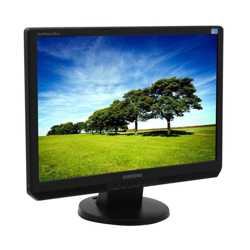 """SAMSUNG used Οθόνη 220WM LCD, 22"""" 1680x1050px, VGA/DVI-D, FQ"""