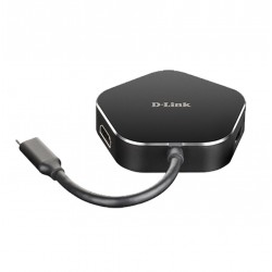 DLINK DUB-M420 4-IN-1 USB-C HUB HDMI & PD