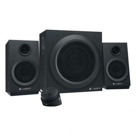 Logitech Z333 2.1 Speaker System (Black) (LOGZ333)