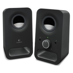 Logitech Z150 2.0 Speakers (Black) (LOGZ150BLK)