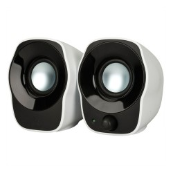 Logitech Z120 2.0 Stereo Speakers (White) (LOGZ120)