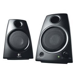 Logitech Z130 2.0 Stereo Speakers (Black) (LOGZ130)