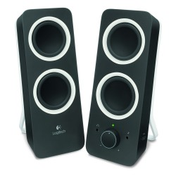 Logitech Z200 2.0 Speakers (Black) (LOGZ200BLK)