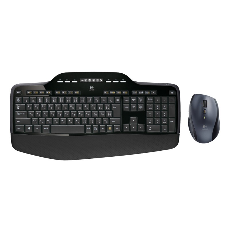 Logitech MK710 Combo Mouse/Keyboard EN-US (Black, Wireless) (LOGMK710)