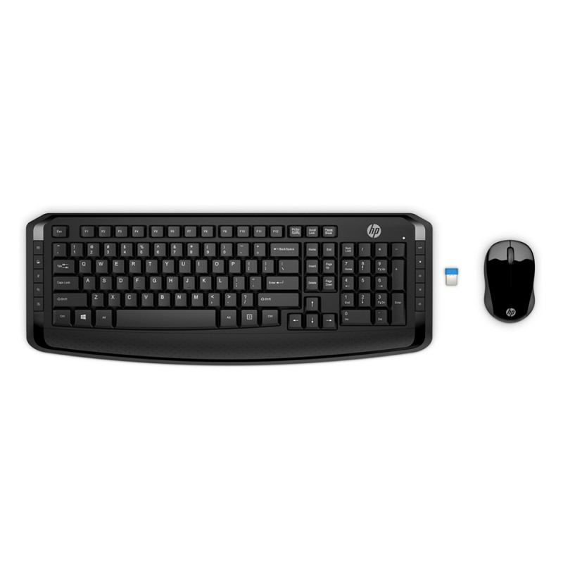 HP Wireless Keyboard and Mouse 300 UK HP3ML04AA