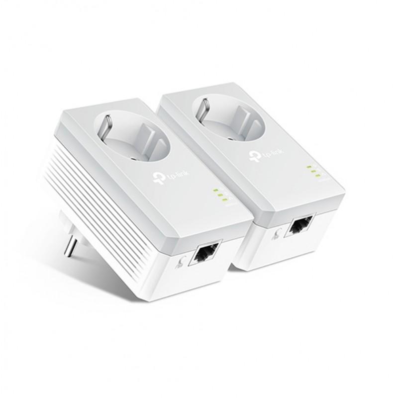 TP-LINK AV600 Passthrough Powerline Starter Kit TL-PA4010P, Ver. 4.0