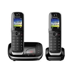 Ασύρματο Τηλέφωνο Panasonic KX-TGJ322GB Black (KX-TGJ322GB) (PANKX-TGJ322GB)