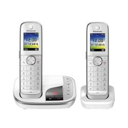 Ασύρματο Τηλέφωνο Panasonic KX-TGJ322GW White (KX-TGJ322GW) (PANKX-TGJ322GW)