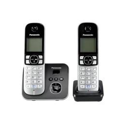 Ασύρματο Τηλέφωνο Panasonic KX-TG6822GB Black (KX-TG6822GB) (PANKX-TG6822GB)