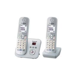 Ασύρματο Τηλέφωνο Panasonic KX-TG6822GS PearlSilver (KX-TG6822GS (PANKX-TG6822GS)