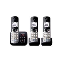 Ασύρματο Τηλέφωνο Panasonic KX-TG6823GB Black (KX-TG6823GB) (PANKX-TG6823GB)
