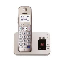 Ασύρματο Τηλέφωνο Panasonic KX-TGE220GN Gold (KX-TGE220GN) (PANKX-TGE220GN)