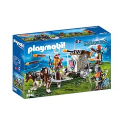 Playmobil Knights: Άμαξα με...