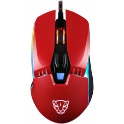 Motospeed V20 Wired Gaming Mouse Red