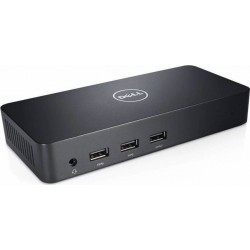 DELL Docking Station Superspeed USB 3.0 Triple Video D3100