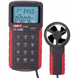 UNI-T ανεμόμετρο UT362, με...