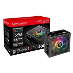 THERMALTAKE Power Supply TR2 600W  SMART RGB 80 Plus