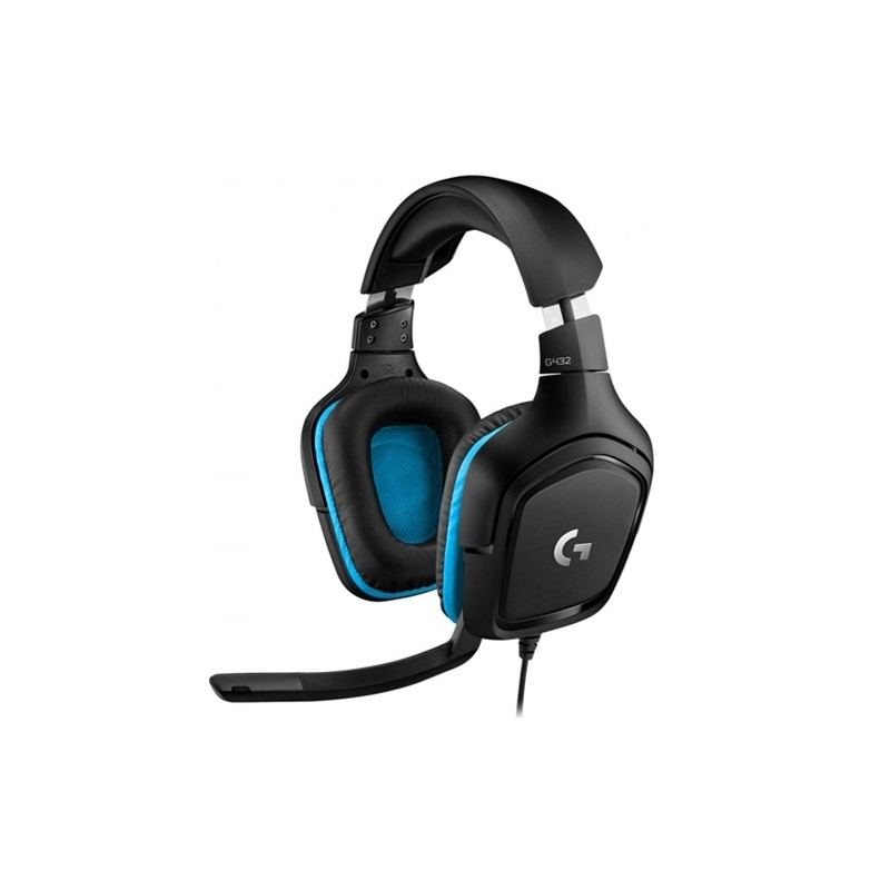 LOGITECH Headset Gaming G432 Black