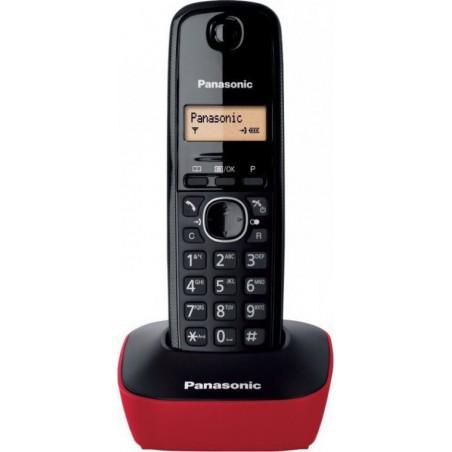 PANASONIC KX-TG1611GRR Red/Black