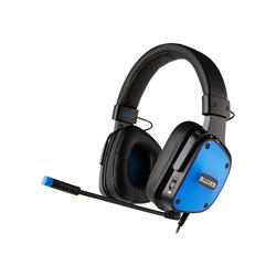 SADES Gaming Headset Dpower 3,5mm Blue